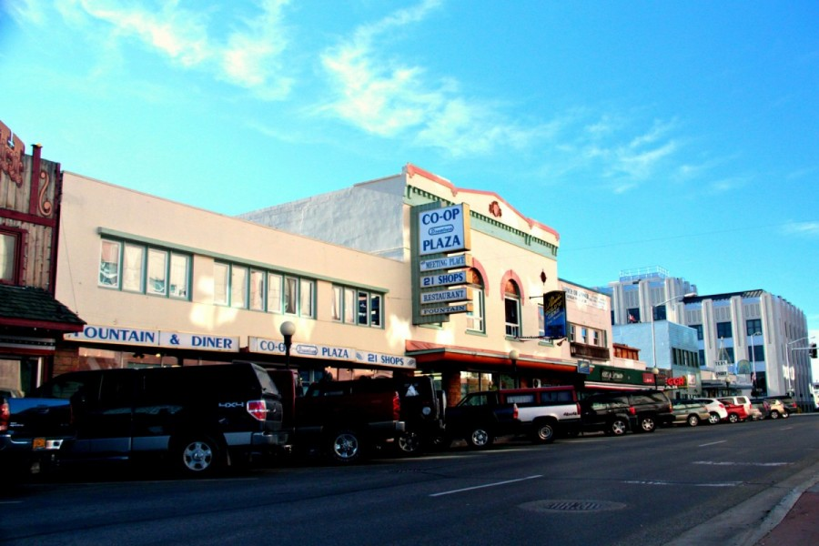 Co-Op Plaza and Empress Theatre