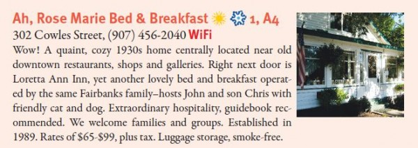 Ah, Rose Marie Bed & Breakfast